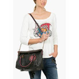 デシグアル Desigual BOLS_LOVERTY GRETA (NEGRO)