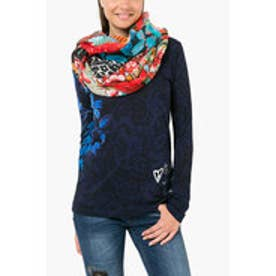 デシグアル Desigual FOULARD_RECTANGLE (FUXIA MAGICO)