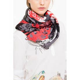 デシグアル Desigual FOULARD_RECTANGLE KIS (ROJO LOFT)