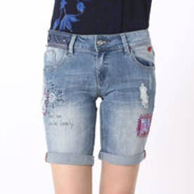 デシグアル Desigual DENIM_BERMUD (DENIM MEDIUM WASH)