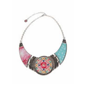 デシグアル Desigual COLLAR_EIXAMPLE TROPICAL (FUCHSIA ROSE)