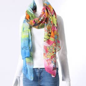 デシグアル Desigual FOULARD_RECTANGLE KOTAO (VERDE LE?ADOR)