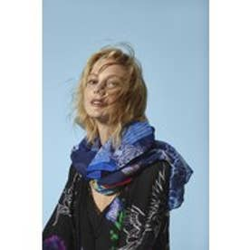 デシグアル Desigual FOULARD_RECTANGLE  BOHO MIX (ESTATE BLUE)