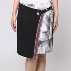 デシグアル Desigual  巻き スカート  (ブラック)