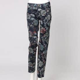 デシグアル Desigual デニム素材 パンツ(花柄 カラーパンツ)
