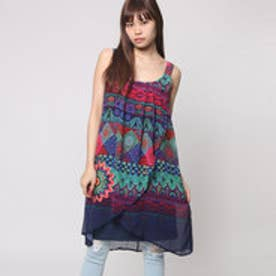 デシグアル Desigual VEST_MAGIC (NAVY)