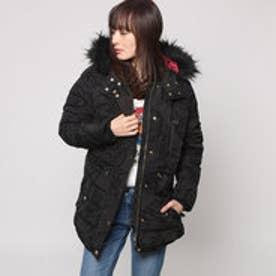デシグアル Desigual  ジャケット コート アウター フード付き (ブラック)