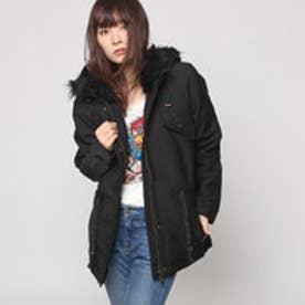 デシグアル Desigual  ジャケット コート アウター フード付き(ブラック)