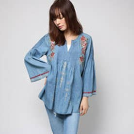 デシグアル Desigual BLUS_LESLIE (DENIM MEDIUM LIGHT)