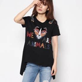 デシグアル Desigual 半袖T シャツ (ブラック)