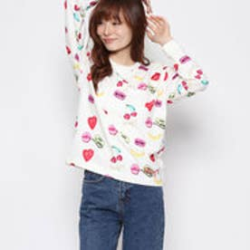 デシグアル Desigual SWEAT_LEYRE (BLANCO)