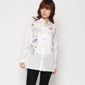 デシグアル Desigual シャツ (ホワイト系)