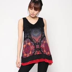 デシグアル Desigual Tシャツ (ブラック系)