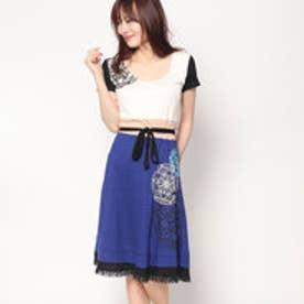 デシグアル Desigual ワンピース/ドレス (ブルー系)