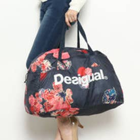 デシグアル Desigual PACKABLE GYM BAG SCARLE (ブルー)