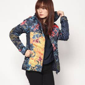 デシグアル Desigual PADDED JACKET GEOPATCH (ブルー)