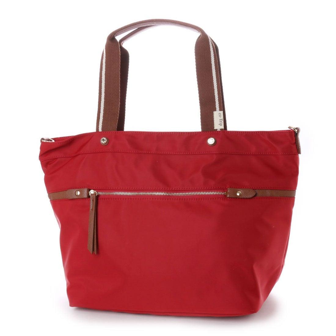 コトリップ ことりっぷ 軽量 普段使いから軽旅行まで ことりっぷ 大きめトートバッグ (ワイン) レディース