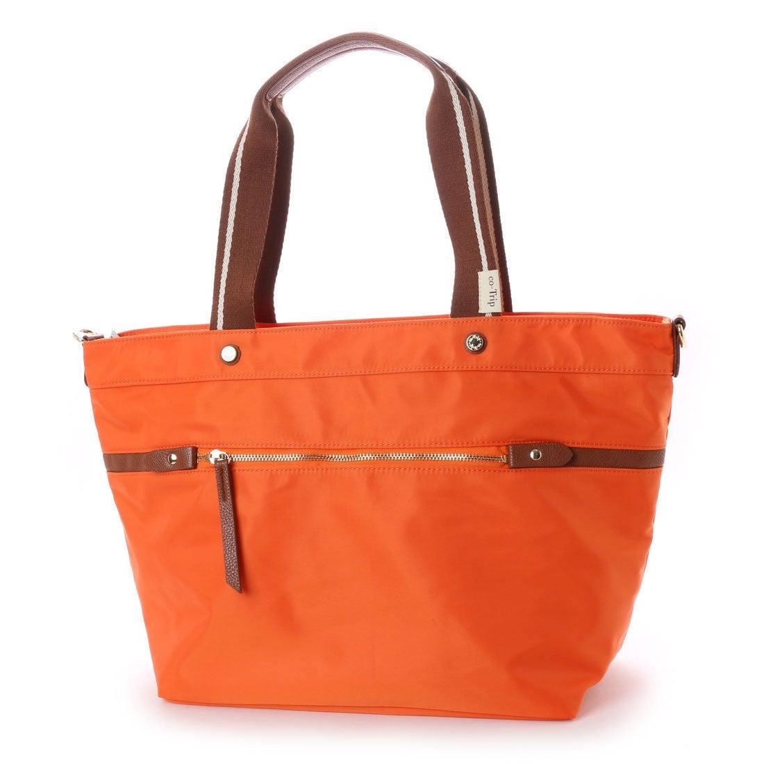 コトリップ ことりっぷ 軽量 普段使いから軽旅行まで ことりっぷ 大きめトートバッグ (オレンジ) レディース