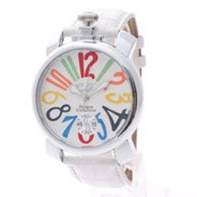 イタリコ ITALICO 【専用ケース付き】トップリューズ式ビッグフェイス腕時計 マットタイプ47mm (G(マルチ/ホワイト))