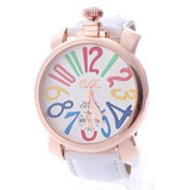 イタリコ ITALICO 【専用ケース付き】トップリューズ式ビッグフェイス腕時計 マルチカラー47mm (A(ホワイト/ホワイト))