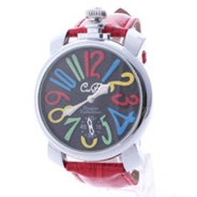イタリコ ITALICO 【専用ケース付き】トップリューズ式ビッグフェイス腕時計 マルチカラー47mm (E(レッド/ブラック))