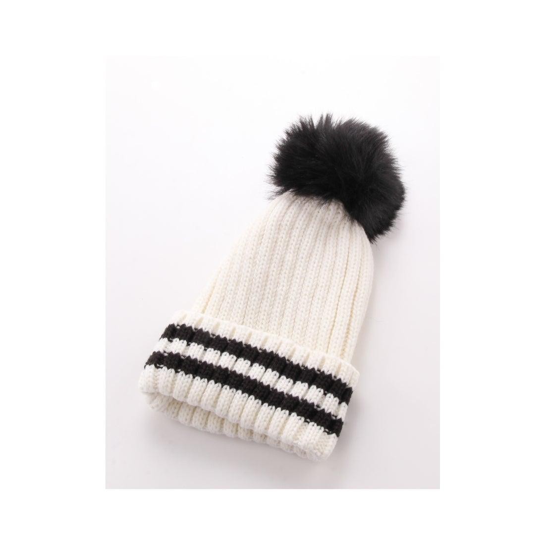 CECIL McBEE ポンポンニット帽 A