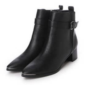 ランダ RANDA ベルテッドサイドゴアショートブーツ (BLACK)