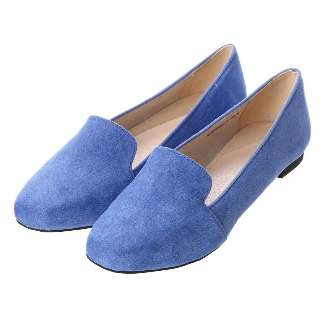 ランダ RANDA 【ストレスフリー】オペラフラットシューズ (BLUE) レディース