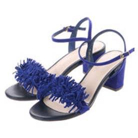 ランダ RANDA フリンジサンダル (BLUE)