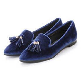 ランダ RANDA 【足にフィットするよう履き心地を追求】タッセルオペラシューズ (BLUE)