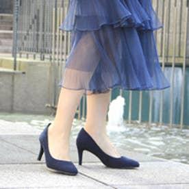 ランダ RANDA 【ストレスフリー】走れる美脚パンプス (NAVY)