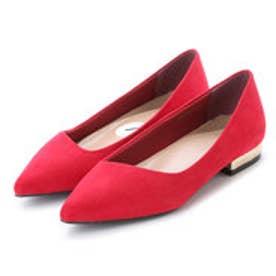 ランダ RANDA 【CAMILLE BIS RANDA】【ストレスフリー】ポインテッドトゥローヒールパンプス (RED)