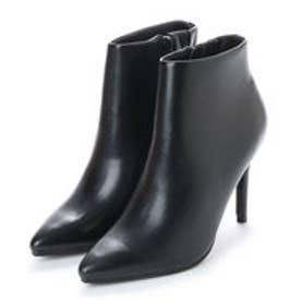 ランダ RANDA ポインテッドトゥショートブーツ (BLACK SMOOTH)