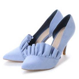 ランダ RANDA ラッフルパンプス (BLUE)