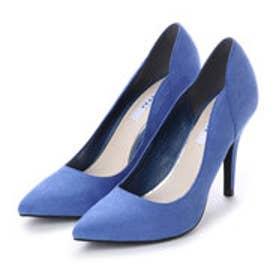 ランダ RANDA デザインカットパンプス (BLUE)