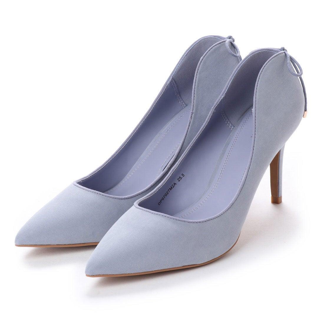 ランダ RANDA バックリボンパンプス (BLUE) レディース