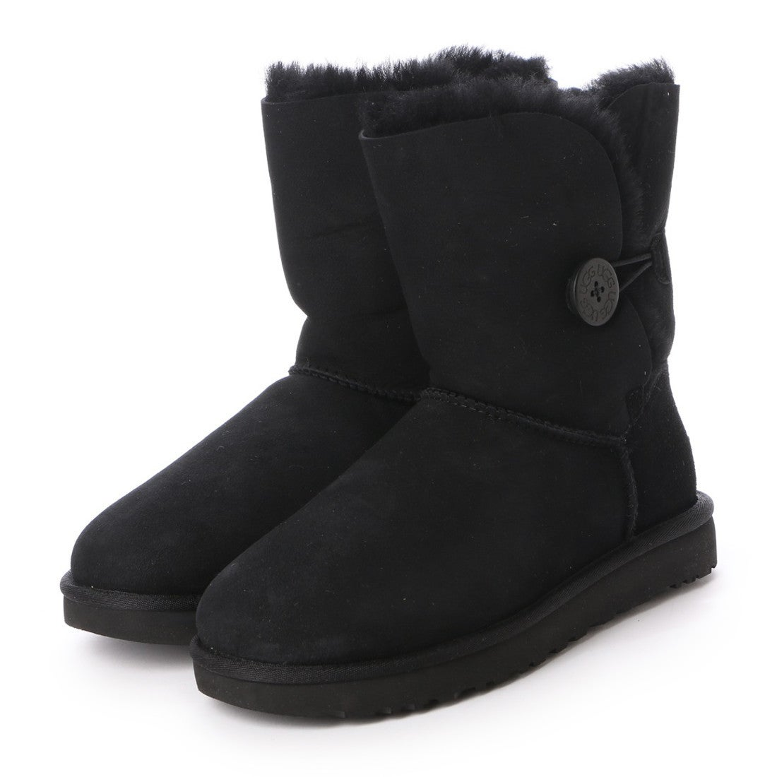 【SALE 30%OFF】アグ UGG Bailey Button II (Black) レディース