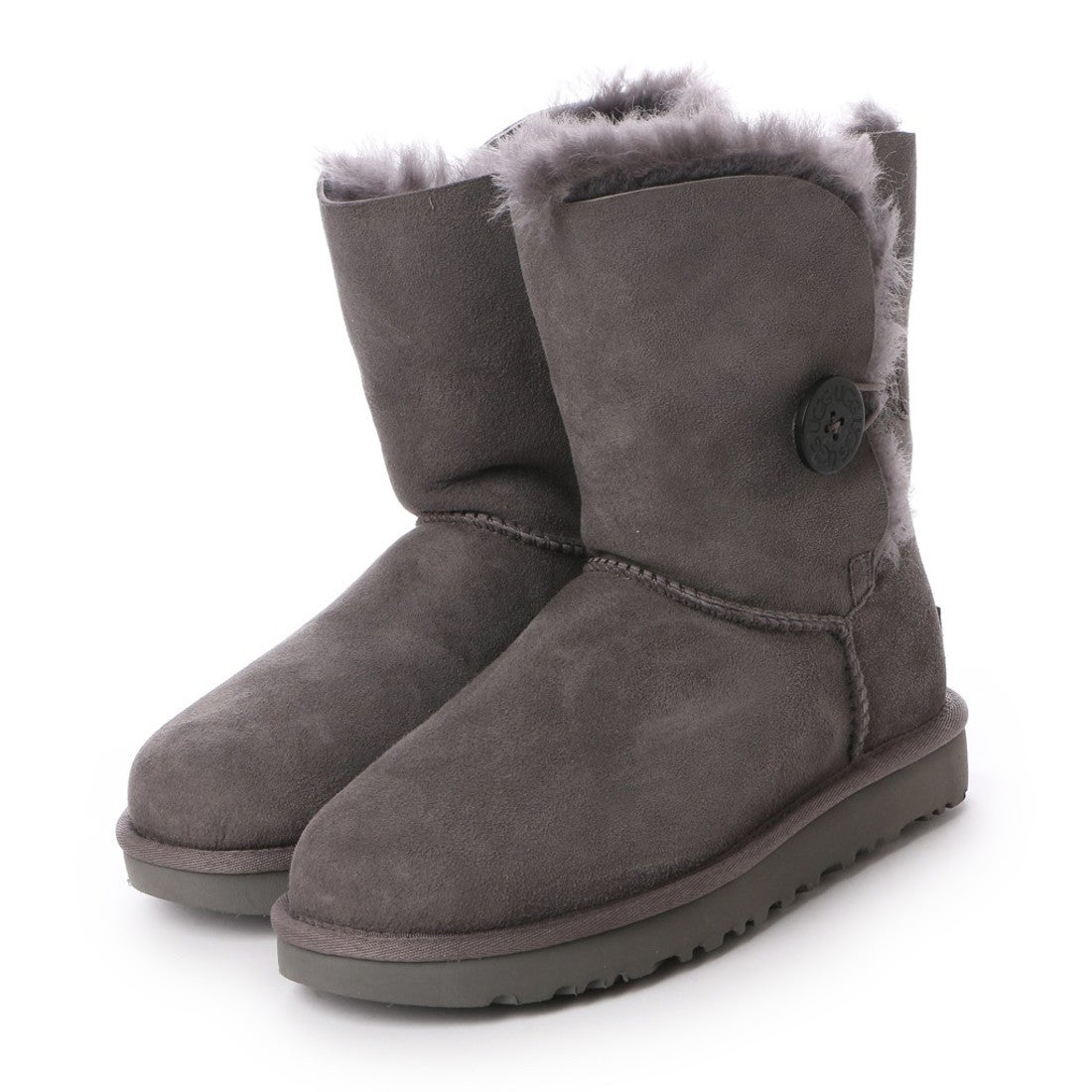 【SALE 30%OFF】アグ UGG Bailey Button II (Grey) レディース