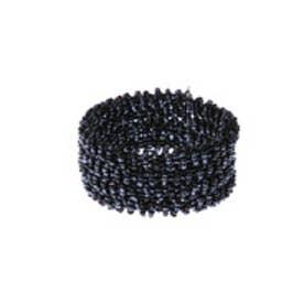 カンカン KANKAN ビーズブレス (ブラック)