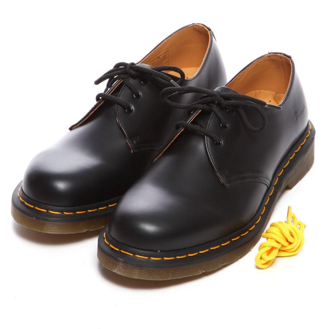 ドクターマーチン Dr.Martens 3アイレットシューズ(ブラック) ,靴とファッションの通販サイト ロコンド