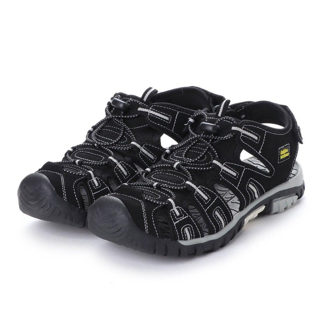ロコンド 靴とファッションの通販サイトゴールデンレトリバー Golden Retriever 紳士スポーツサンダル (BLACK)