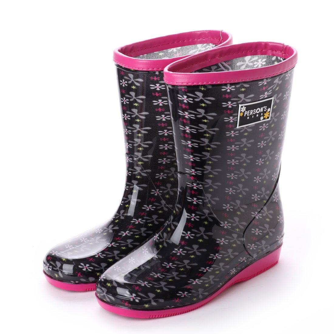 c3a2281797dd2 パーソンズキッズ PERSON S KIDS レインブーツ 長靴 (BLK) -靴&ファッション通販 ロコンド〜自宅で試着、気軽に返品