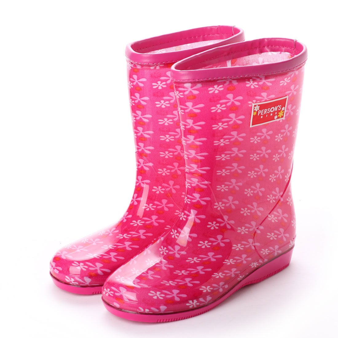 ロコンド 靴とファッションの通販サイトパーソンズキッズ PERSON'S KIDS レインブーツ 長靴 (PINK)