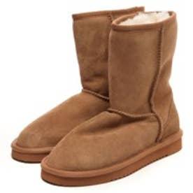 ロマニーニ ROMANINI Lady classic Short Mouton Boots(チェスナット)