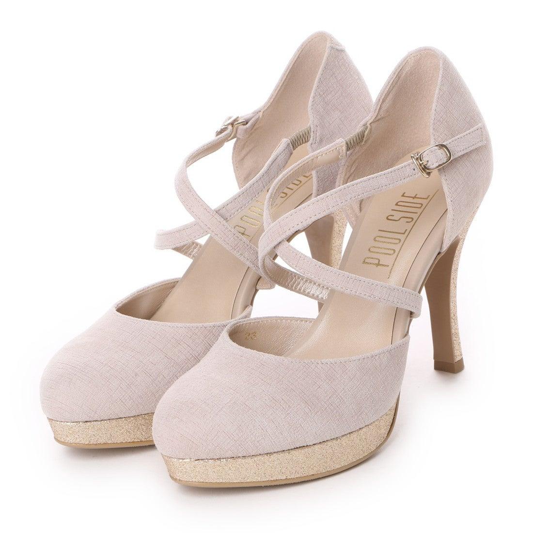 ロコンド 靴とファッションの通販サイトプールサイドPOOLSIDEクロスベルト(ベージュ)