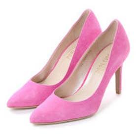 プールサイド POOL SIDE ヒールキャップカラーパンプス (ピンク)