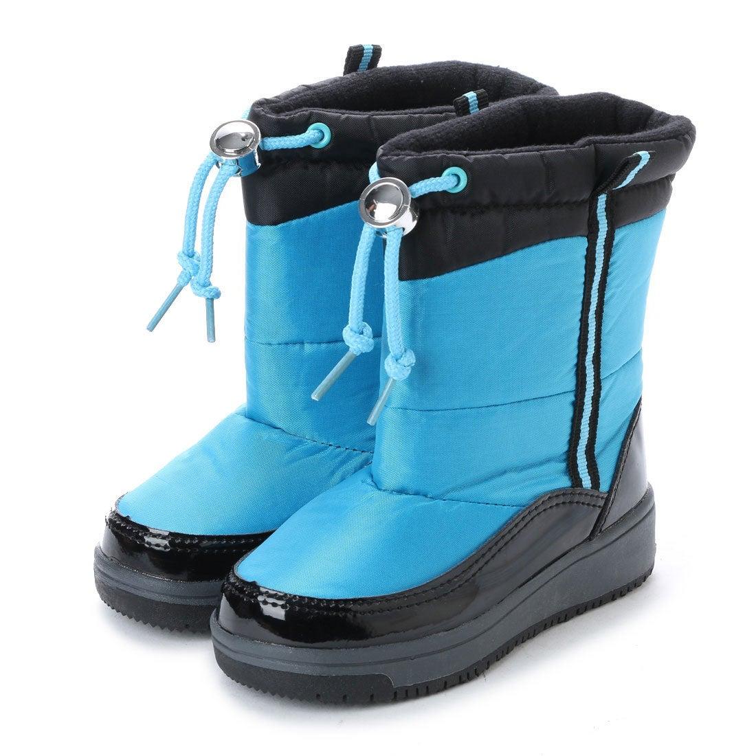 エニーウォーク Anywalk ドローコード付き子供用 防寒ブーツ・aw_17990(BLUE)