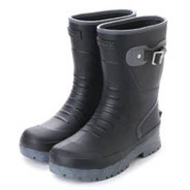 エニーウォーク Anywalk メンズ SuperLight レインブーツ軽量 防滑 長靴  aw_17080(BLACK)