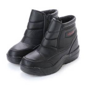 エニーウォーク Anywalk 積寒地仕様 完全防水 スパイク付き 防寒ブーツ スノーブーツ・aw_17396 (BLACK)