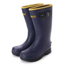 エニーウォーク Anywalk メンズ SuperLight レインブーツロング丈 軽量 防滑 長靴 aw_17081 (NAVY)